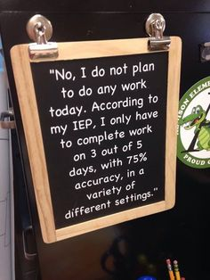 Hmmm... it does make you think about the way we develop goals for our kids, doesn't it?