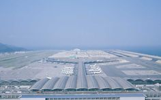 Chek Lap Kok is one of the world's largest and most advanced airports. Foster + Partners was in charge to design the terminal building.