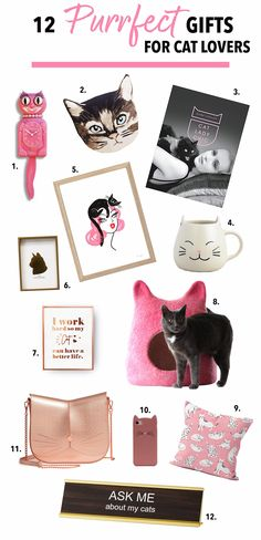 12 Purrfect Gifts fo