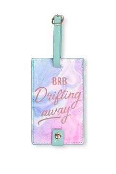 Core Luggage Tag, DRIFTING AWAY