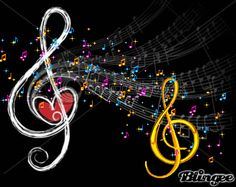 notas musicales Animated Pictures for Sharing