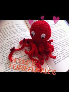 Octopus, amigurumy Byaly