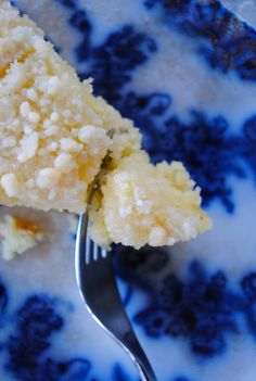 Belly Up: Lemon Crumb Cake