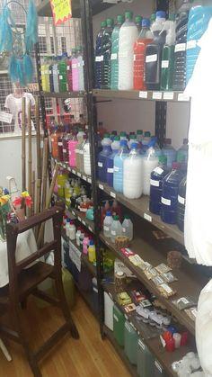 Productos de limpieza y articulos esotericos