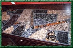 Countertop Remnants : granite remnant mosaic countertop more countertops ideas granite ideas ...