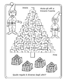 "Christmas Tree Maze Free Coloring Pages for Kids - Printable Colouring Sheets.ose as pkg wrap with ""crayons"" for ribbon Christmas Maze, Christmas Sheets, Christmas Coloring Sheets, Christmas Colors, Free Christmas Coloring Pages, Elegant Christmas, Christmas Worksheets, Christmas Activities For Kids, Christmas Printables"