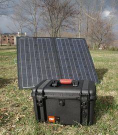 Waterproof Portable Solar Power Generator System