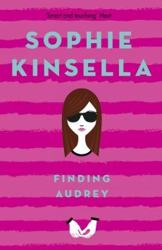 This is from the bestselling author of the Shopaholic series comes a story of humour, heart and heartache. Finding Audrey is Sophie Kinsella's first novel for teens, sure to appeal to her legions of adult and young adult fans all over the world. Audrey can't leave the house. she can't even take off her dark glasses inside the house. Then her brother's friend Linus stumbles into her life. With his friendly, orange-slice smile and his funny notes, he starts to entice Audrey out again - well…