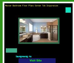 Master Bathroom Floor Plans Corner Tub Inspiration 135613 - The Best Image Search