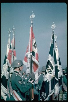 Nazism, commonly known as National Socialism (German: Nationalsozialismus), refers primarily to the ideology and practices of the Nazi Party under Adolf Hitler; German Soldiers Ww2, German Army, Nazi Propaganda, The Third Reich, World History, Military History, World War Two, Wwii, Germany