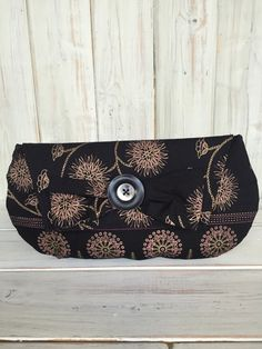 Clutch BagBlack Clutch BagHandmade by BarnabyBrownBoutique on Etsy