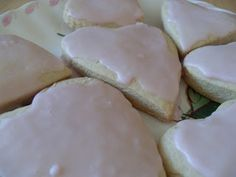 Rosewater Cookies, sub flour for gluten free four cup per cup