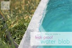 how to make a leak-proof water blob - without tape! #waterblob #homemadetoast
