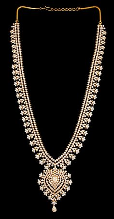 Indian Style Diamond Necklace