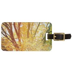 Autumn Abstract Bag Tag - eye catching gifts gift ideas cyo custom birthday presents