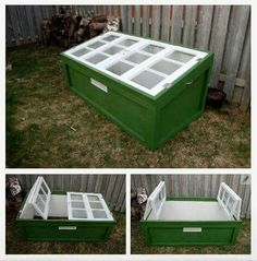 Need to add Windows like these to my raised beds
