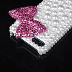 Red Luxury 3D Crystal Pearl Bowknot Bling Rhinestone Designer Cover For iPhone 5, View Designer Cover For iPhone 5, Neutral Product Details from Shenzhen Yovatar Technology Co., Ltd. on Alibaba.com