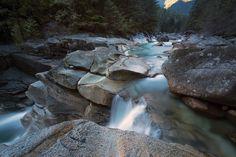 Upper Gold - Lower Falls, Golden Ears Provincial Park, BC, Canada