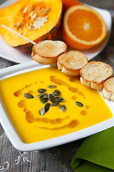 Dýňová polévka s pomerančovou šťávou, Foto: Michal Šajmir