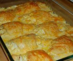 Cheesy Chicken Roll Ups