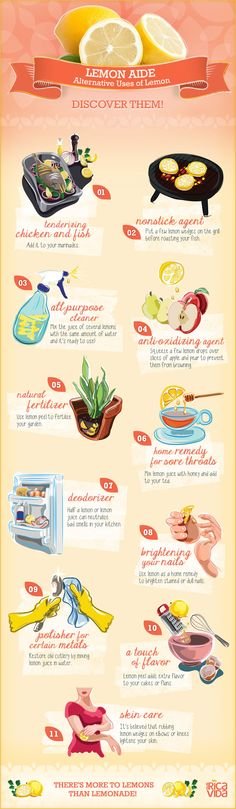 When Life Gives You #Lemons, Go Beyond Lemonade #Infographic
