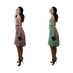"""awesome Janecrafts Women Summer Chiffon Pleated Dress -1. 100% brand new with """"Janecrafts"""" TR only sold by Janecrafts. We 100% guarantee the brand new condition,high quality  and the best after-sale service. The Best advice is to CAREFULLY shop from other followers , because we can not make sure that you could receive the same quality as our products , thanks for your attention and support ! 2.This dress perfectly catches up with the popular sweet trend, pure and bright color, cute bow…"""