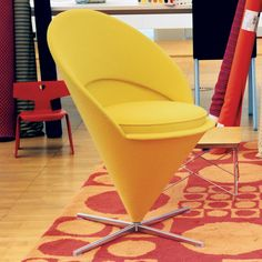 Fab.com | Cone Chair Golden Yellow  I'll take 2 please.