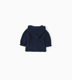 Hooded cardigan-NEW IN-MINI   0-12 months-KIDS   ZARA Netherlands