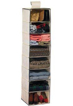 Organizing idea: Closet organizer