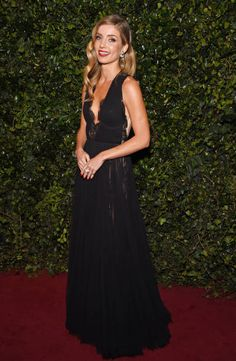Annabelle Wallis attends the London Evening Standard Theatre Awards 2017 at the Theatre Royal Drury Lane on December 3 2017 in London England