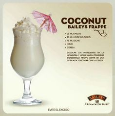 25 drinks recipes with Baileys liquor that will make your mouth water - Bar Drinks, Cocktail Drinks, Yummy Drinks, Alcoholic Drinks, Beverages, Licor Baileys, Baileys Cocktails, Baileys Recipes, Alcohol Drink Recipes