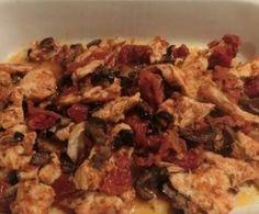 Pollo ai Pomodori Secchi e Olive (Cartoccio+Varoma)