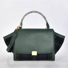 2012 Celine Luggage Phantom Square Bag 3073 Emerald green - CELINE handbags  - Replica Handbags Replica 9d86c6daa67a2
