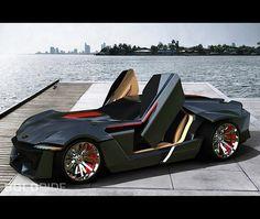 2012 Lamborghini Avispado Concept by Kaiwan Hasani (side)