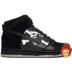 half off 6b242 b0406 Mens Nike Dunk High Premium FC St Pauli Black Medium Grey