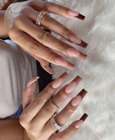 French Tip Acrylic Nails, Long Square Acrylic Nails, Bling Acrylic Nails, Acrylic Nails Coffin Short, Simple Acrylic Nails, Best Acrylic Nails, Long French Tip Nails, Colored Acrylic Nails, Glitter Acrylics