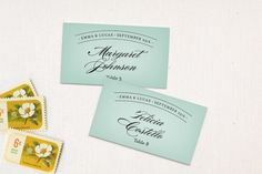 Big City - Chicago Place Cards