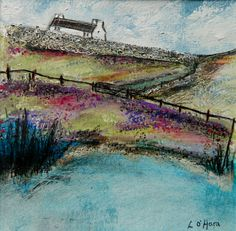 ''A croft on the moor""
