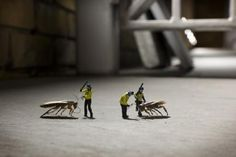 Slinkachu - Animals| Andipa Gallery London