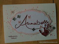 Babykarte für Annabelle