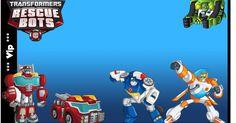 Transformers Rescue Bots: Free Printable Kit.