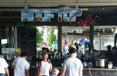 "<b><a href=""https://www.facebook.com/rooftopcafecm/"">Rooftop Cafe at City Museum</a></b><br> 701 N 15th St.<br> St. Louis, MO<br> (314) 915-8836<br> <br> As if the City Museum isn't fun enough already, you can also get patio seating and a view of the Ferris wheel and teetering school bus at Rooftop Cafe. Order up some of the restaurant's street-style food and enjoy drinks from the full cocktail bar. Photo by Max Cassilly."