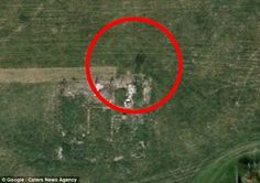 Ghost in a flat cap appears by village destroyed in 1946 on Goo-ghoul Earth Ghost Pictures, Creepy Pictures, Ghost Pics, Google Earth Images, Bing Images, Paranormal Pictures, Ghost Caught On Camera, Ghost Sightings, Ghost And Ghouls