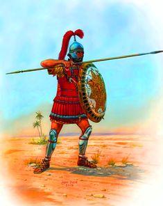 Carthaginian Guards Warrior (III BC)- by Igor Dzis