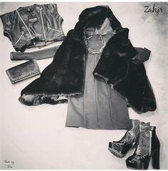 ZAHJR  Collezione 2015  Hermans Concept Store http://www.pinterest.com/FashionHermans/  Seguici si Facebook: https://www.facebook.com/HermansStreetClothes/?ref=hl  Seguici su Instagram: http://instagram.com/hermans_fashion/ Fashion Très chic Glamour Moda donna abito scarpe shoes bag bags