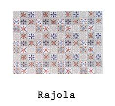 loneta de algodón Rajola #fabric #rajola #baldosa #hidraulico #cotton