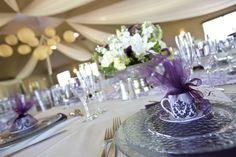 Italian Wedding Favors - Espresso cups & saucer, what a beautiful presentation!