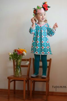 lillesol & pelle Schnittmuster/ pattern: Frühlingstunika