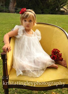 The Melanie Flower Girl Lace Dress by Kailyn, zoe, andco