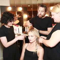 Check out the amazing hairstyles featured at Rachel Zoe's 2018 Fashion Show using the all new Paul Mitchell Invisiblewear line. Rachel Zoe, Trendy Hairstyles, How To Find Out, Fashion Show, Chic, Concert, Hair Styles, Shabby Chic, Hair Plait Styles